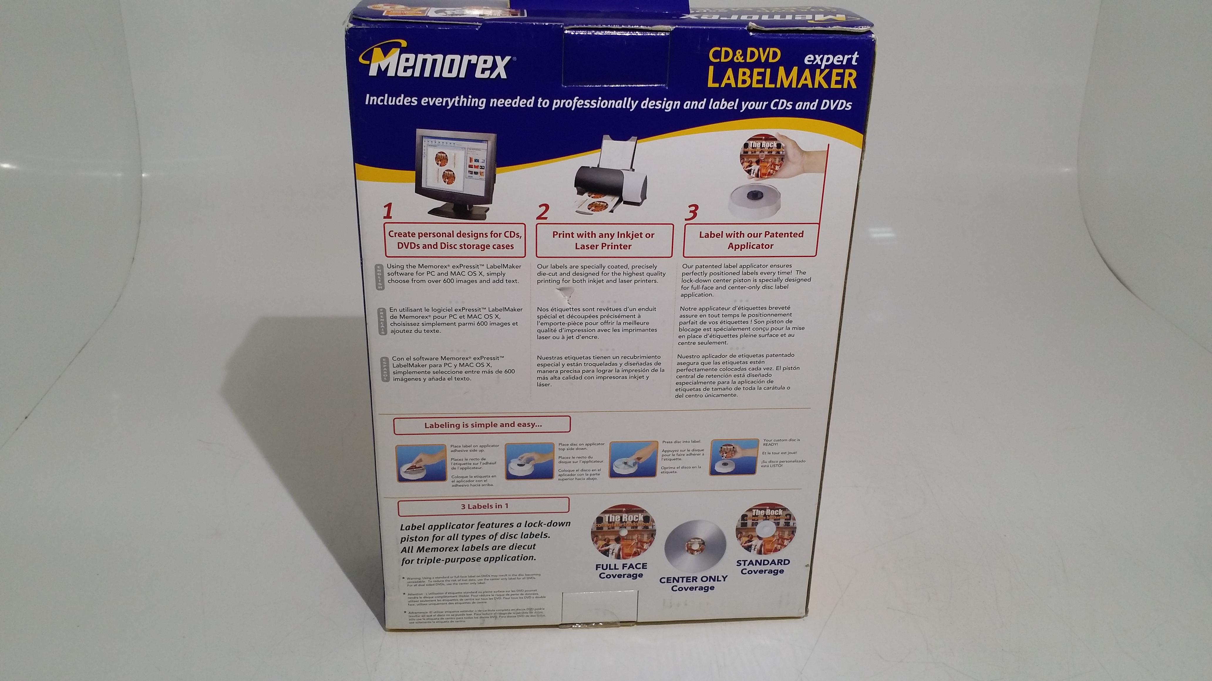 New In Box Memorex